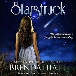 Starstruck by Brenda Hiatt, Narrated by Bethany Barber audiobook cover